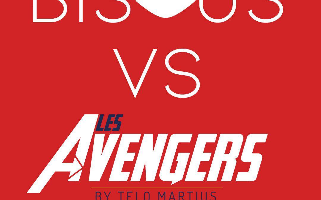 Quand les Avengers envahissent les couloirs de Bisous Agency