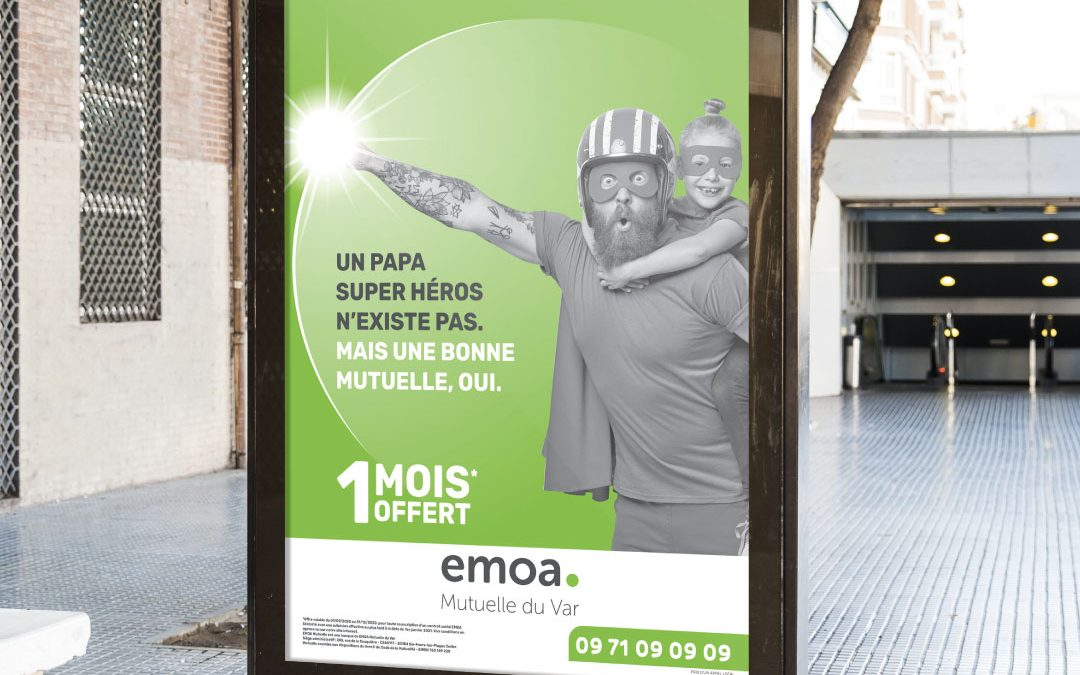 Campagne d'affichage Mutuelle | Emoa