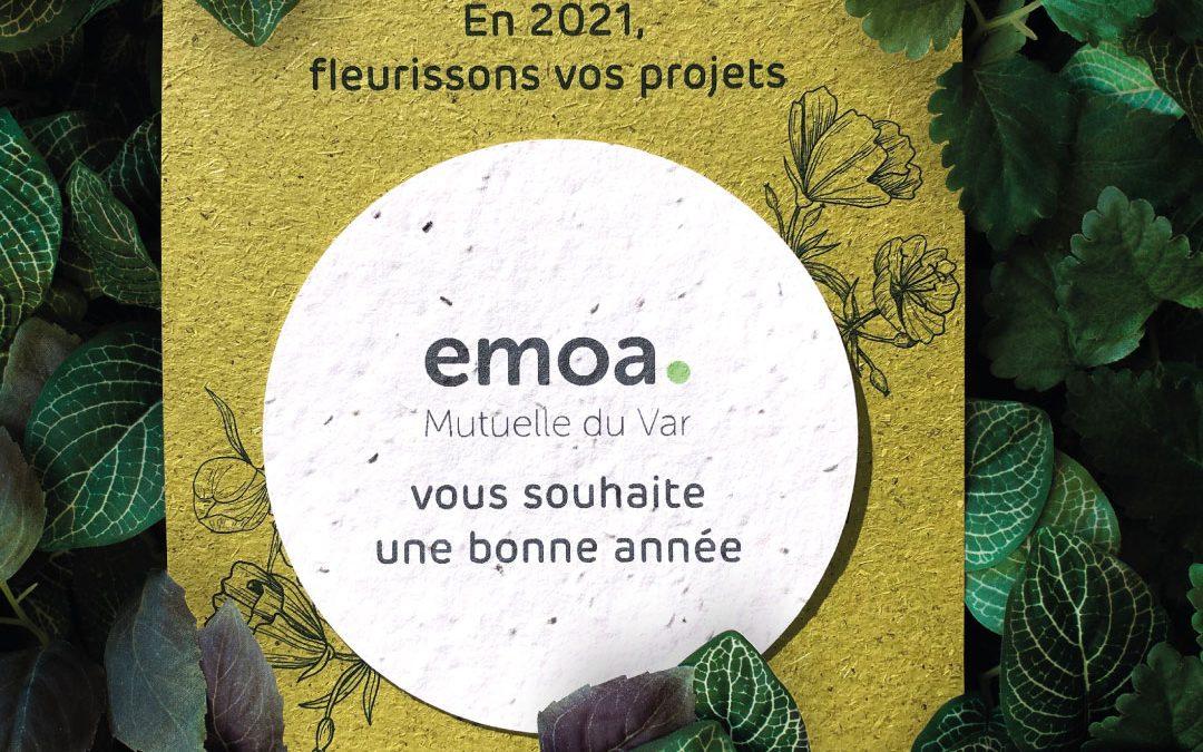 Fleurissez vos projets avec EMOA Mutuelle